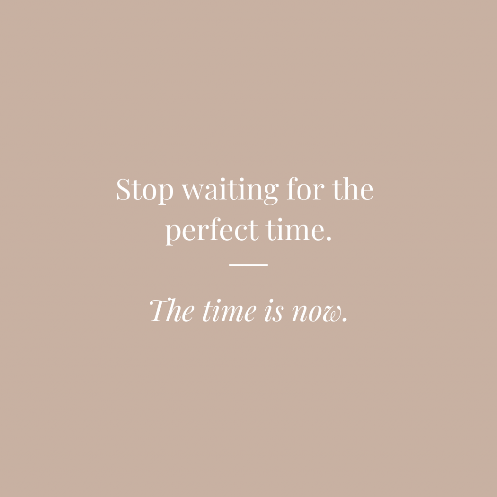Blog post - Time is now